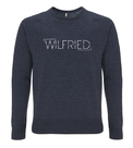 "Unisex Raglan Sweater ""Wilfried"" Navy"