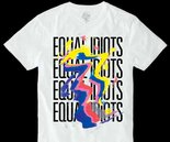 Equal Idiots - White Unisex T-shirt