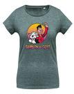 Samson&Gert - Logo - Melange Grey Dames Shirt