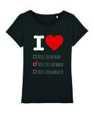 "Niels Destadsbader - Black ""I Love"" Girls shirt"