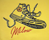 "Milow - Golden Yellow ""Sneaker"" Unisex Crew Neck Sweater"