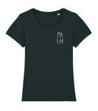 "Niet Nu Laura - Dark Heather Grey ""Ma Eih"" Girls Shirt"