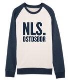 """Niels Destadsbader - Navy White """"NLS."""" sweater"""
