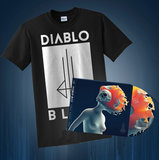 Diablo Blvd - Zero Hour (CD) + Logo Shirt