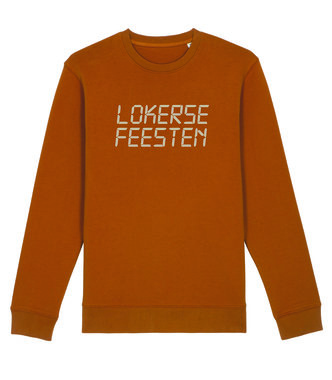 Lokerse Feesten - Digital Sweater (Roasted Orange)