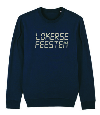 Lokerse Feesten - Digital Sweater (Dark Heather Blue)
