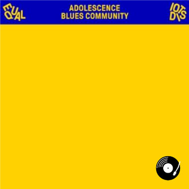 Equal Idiots - Adolescence Blues Community LP (Yellow Vinyl)