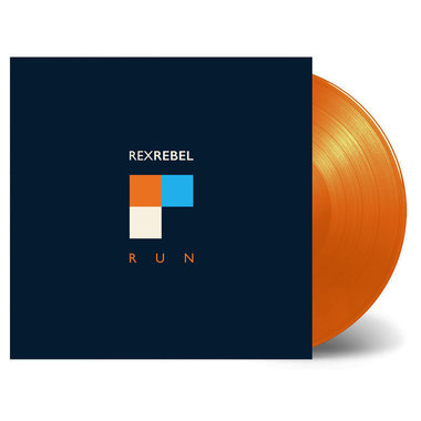 Rex Rebel – Run LP - Limited edition coloured vinyl