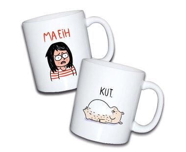 Niet Nu Laura - Koffiemok set