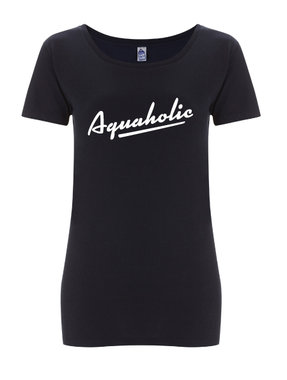 Aquaholic - Womens Tee