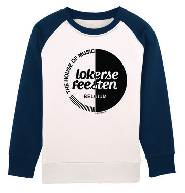 Lokerse Feesten - Cherry Moon Sweater (Navy/White)