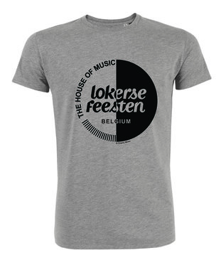 Lokerse Feesten - Sport Grey Cherry Moon T-shirt