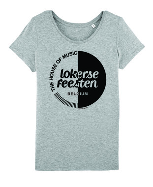 Lokerse Feesten - Sport Grey Girls Cherry Moon T-shirt