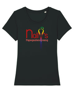 "Nally's Papegaaienopvang - Black ""Nally's"" Girls Shirt"