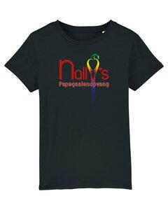 "Nally's Papegaaienopvang - Black ""Nally's"" Kids Shirt"
