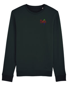 "Nally's Papegaaienopvang - Black ""Nally's"" Unisex Sweater"