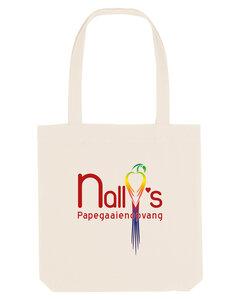 "Nally's Papegaaienopvang - Naturel ""Nally's"" Cotton Bag"