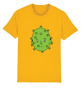 "Sociaal Incapabele Michiel - Spectra Yellow ""Corona"" Shirt"
