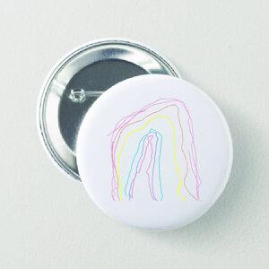 """Maurice Lambrecht – """"Rainbow"""" button"""