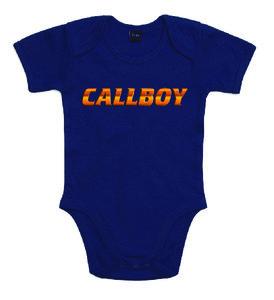 """Callboys - Navy """"Callboy"""" Baby Bodysuit"""