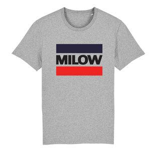 "Milow - Heather Grey ""Milow"" T-shirt"