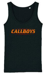 Callboys - Black Logo Tank Top