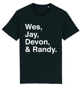 Callboys - Black Names T-shirt