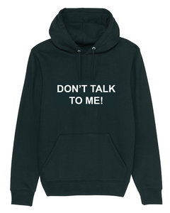 "The Masked Singer - Zwarte ""Don't talk to me"" Unisex Hoodie"