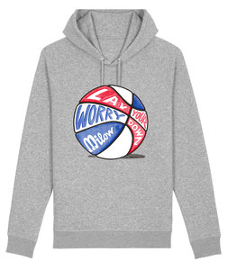 "Milow - Heather Grey ""Basket"" Unisex Hoody"