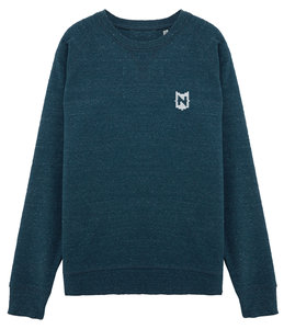 "Nerdland - Denim ""Logo"" Sweater"
