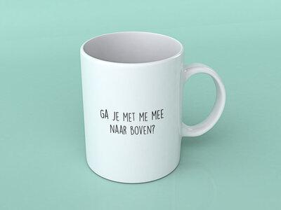 """Niels Destadsbader - Koffietas """"Ga je met me mee naar boven?"""""""