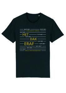 "Niels Destadsbader - Black ""Het Dak Eraf"" T-shirt"
