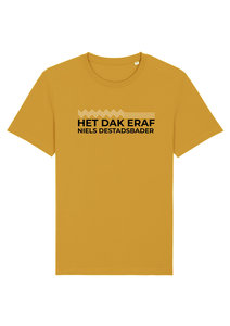 "Niels Destadsbader - Ochre ""Het Dak Eraf"" T-shirt"