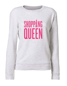 Vijf - Shopping Queen - Cream Grey (Women - Sweater)