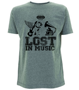 RifRaf - Lost in Music (T-shirt - Boys - Grey)