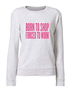 Vijf - Born To Shop - Cream Grey (Women - Sweater)