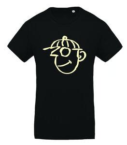 20 Jaar Ketnet - Zot - Zwart Unisex Shirt