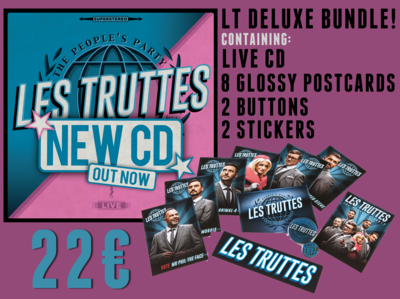 Les Truttes - The People's Party CD Deluxe Bundle