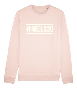 "Niels Destadsbader - Candy Pink ""#Niels30"" sweater"