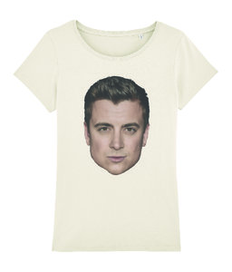 "Niels Destadsbader - Naturel ""Head"" Girls shirt"