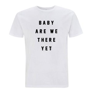 "Milow - White ""Baby Are We There Yet"" T-shirt"