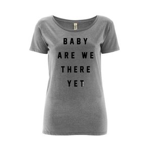 "Milow - Grey ""Baby Are We There Yet"" Women's T-shirt"