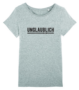 "Milow - Heather Grey ""unglaublich"" Women's T-shirt"