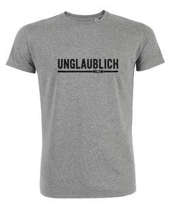 """Milow - Heather Grey """"unglaublich""""  T-shirt"""