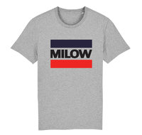 "Milow - Heather Grey ""Milow"" T-shirt"