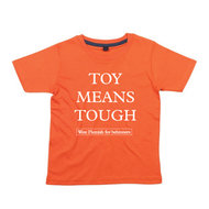 West Flemish for Behinners - Toy Means Tough (Kids - Orange)