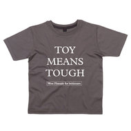 West Flemish for Behinners - Toy Means Tough (Kids - Grey)