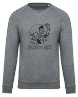 Samson&Gert - Logo - Melange Grey Unisex Sweater