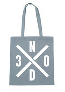 Niels Destadsbader - Grey CottonBag 30