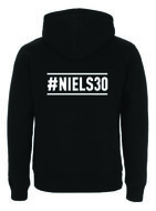 "Niels Destadsbader - Black ""30"" Hooded Zipper"